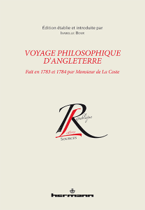 Voyage philosophique d'Angleterre