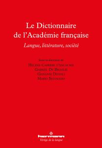 Le Dictionnaire de l'Académie française