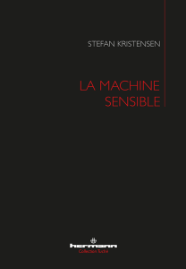 La Machine sensible Book Cover