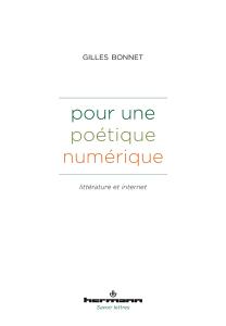 Pour une poétique numérique