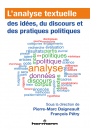 L'analyse textuelle des idées, du discours et des pratiques politiques