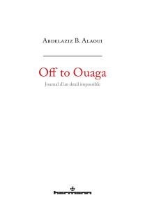 Off to Ouaga