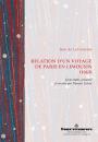 Relation d'un voyage de Paris en Limousin (1663)