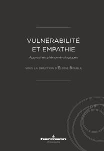 Vulnérabilité et empathie Book Cover