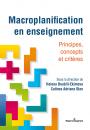 Macroplanification en enseignement