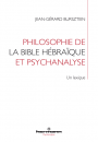 Philosophie de la Bible hébraïque et psychanalyse
