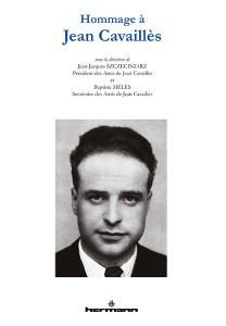 Hommage à Jean Cavaillès